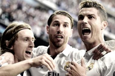 Ronaldo tem agora 103 golos na Champions // Fonte: Hindustan Times
