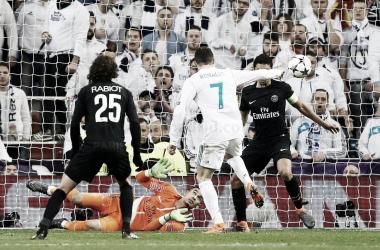 Cristiano Ronaldo afina la puntería
