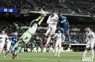 Cristiano Ronaldo elegido el mejor del partido ante el Getafe en @RealMadridVAVEL