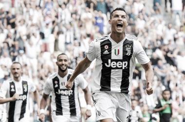 """Cristiano Ronaldo revela """"tensão"""" antes de primeiro gol pela Juventus. Foto: Divulgação/Juventus"""