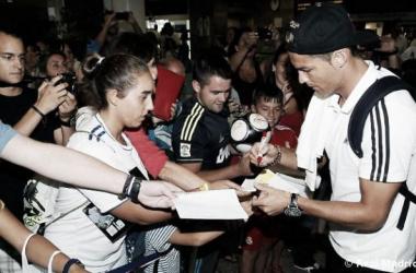 Cristiano Ronaldo viaja a Coruña para disputar el Teresa Herrera