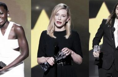 Lupita Nyong'o, Cate Blanchett, Jared Leto. Foto: Montaje por Jime Benav.