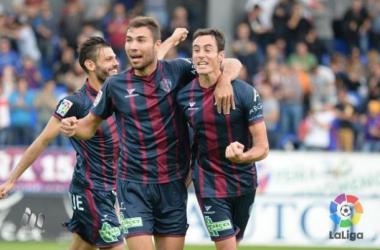 La SD Huesca sigue sin ganar en El Alcoraz