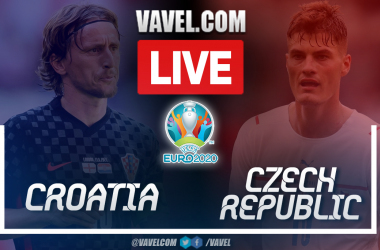 Goals and Highlights: Croatia 1-1Czech Republicin Euro 2020