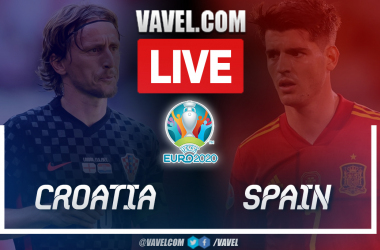 Highlights and goals: Croatia 3-5 Spain in UEFA Euro 2020