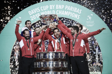 Crocia, última campeona de la Copa Davis 2018. Foto: daviscup.com