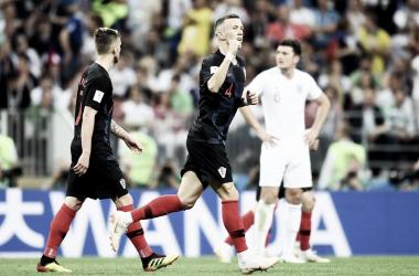 Croaciavuelve a sufrir pero logra el pase a la final.   Foto: selección de fútbol de Croacia
