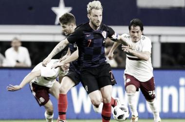 Croacia derrota a México por la mínima en la última fecha FIFA