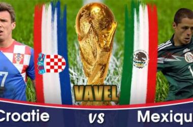 Live Croatie - Mexique en direct