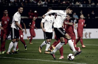 Qualificazioni Russia 2018 - Dura sessanta minuti l'Azerbaijan, poi è monologo Germania (5-1)