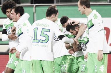 El Wolfsburgo abusa de la indolencia del Werder Bremen