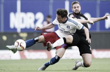 Combate nulo entre Hamburgo y Eintracht