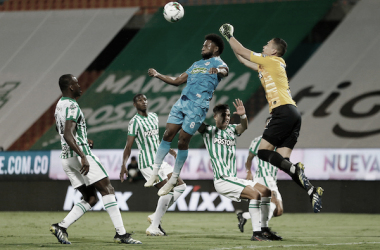 Atlético Nacional venció a Jaguares y pico en punta