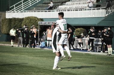Ferro 2-0 Tristán Suárez (Foto: Ferrocarril Oeste)