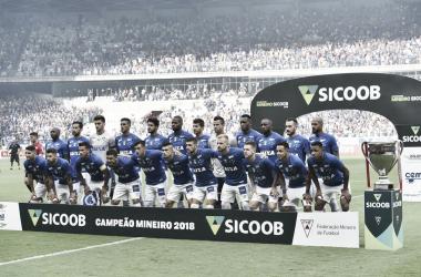 Cruzeiro levantou 37º caneco do Campeonato Mineiro (Foto: Washignton Alves/Light Press)