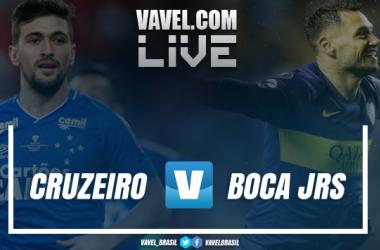 Resultado e gols Cruzeiro x Boca Juniors em Libertadores 2018(1-1)