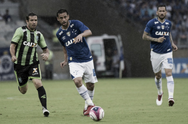 Desde sua reestreia pelo clube celeste, o atacante soma apenas um gol marcado (Foto: Washington Alves/Light Press/Cruzeiro)