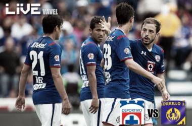 Resultado Cruz Azul - Chorrillo FC en Concachampions 2014 (1-0)