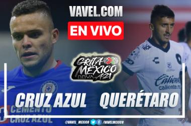 Goles y resumen del Cruz Azul 2-0 Querétaro en Liga MX 2021