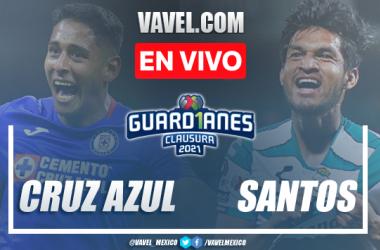 Goles y resumen del Cruz Azul 1-1 Santos en Final Vuelta Liga MX 2021