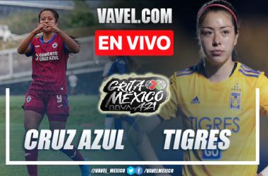Goles y resumen del Cruz Azul femenil 0-3 Tigres femenil en Liga MX Femenil 2021