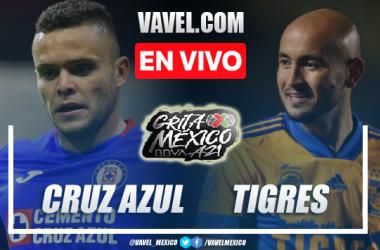 Goles y resumen del Cruz Azul 1-1 Tigres UANL en Liga MX 2021