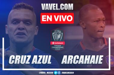 Resumen y Goles del Cruz Azul 8-0 Arcahaie FC en Octavos de Final Vuelta Concachampions 2021
