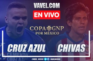 Goles y Resumen: Cruz Azul 2-1 Chivas en Copa GNP por México 2020
