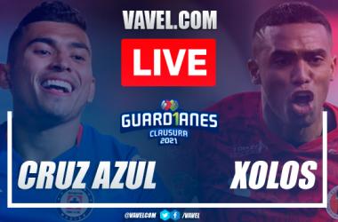 Goals andHighlightsof Cruz Azul 1-1 Xolos on Liga MX 2021