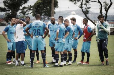 Time alternativo vai defender invencibilidade do Cruzeiro no campeonato (Foto:Vinnicius Silva/Cruzeiro)
