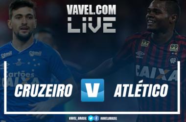 Resultado Cruzeiro 2 x 1 Atlético-PR pelo Campeonato Brasileiro 2018