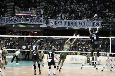Atual campeão da Superliga, o Sada bateu o Campinas na final da edição passada (Foto: Renato Araújo/Sada Cruzeiro)