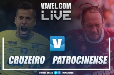 Cruzeiro x Patrocinense AO VIVO online pelo Campeonato Mineiro 2019 (4-0)
