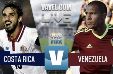 Costa Rica vs Venezuela en vivo y en directo online en Amistoso 2016 (0-0)