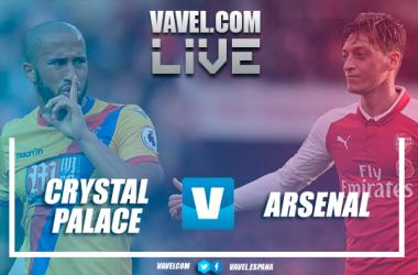 Resumen Crystal Palace vs Arsenal en Premier League 2018 (2-2)