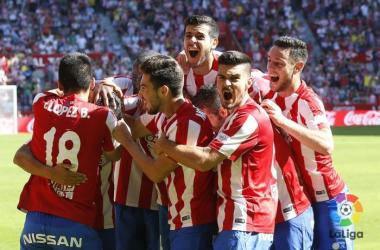 El Sporting confirma su excelente momento de forma (2-1)