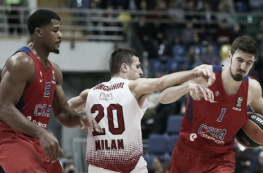 Turkish Airlines EuroLeague - Milano alla prova CSKA, Olympiacos a Vitoria