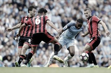 Resumen Bournemouth 0-2 Manchester City en Premier League 2017