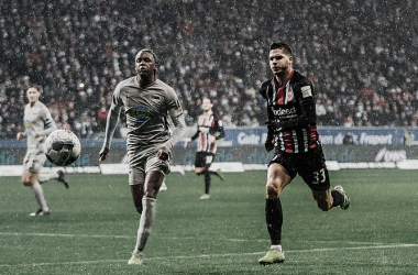 Jejum mantido: Eintracht Frankfurt reage e busca empate diante do Hertha Berlin