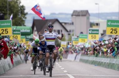 Sagan impuso su velocidad | Foto. Tour de Suiza