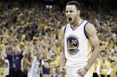 """Stephen Curry: """"Hay que pensar en conseguir cuatro victorias más"""""""