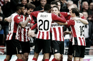 Santiago Arias marcó en la victoria del PSV