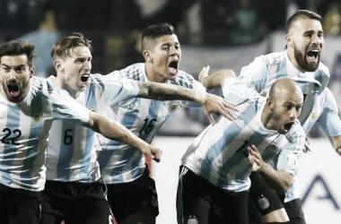 Jugadores de la Selección (Foto: Olé)