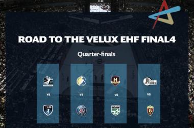 Así quedaron los cuartos de la Champions League