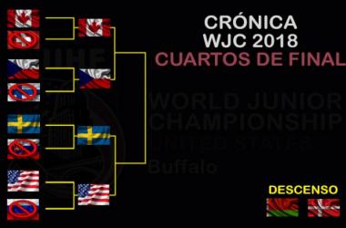 Crónica WJC 2018: cuartos de final