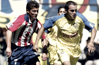 Ramón Ramírez y Cuauhtémoc Blanco. (Foto: Fox Deportes)