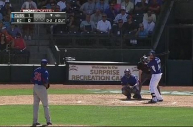 Edwin Jackson pitched 4 2/3 scoreless innings Sunday -- WGN Sports, www.cubs.mlb.com