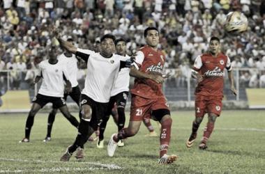 Resultado Cúcuta Deportivo - Cortulúa en la Liga Águila 2015-II (0-0)