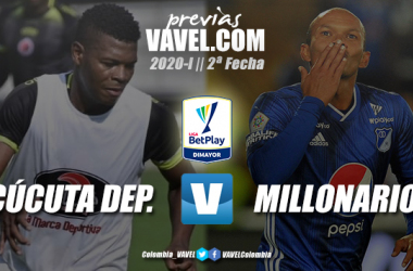 Previa Cúcuta Deportivo vs. Millonarios: tres puntos para apaciguar el debut en la Liga BetPlay 2020-I