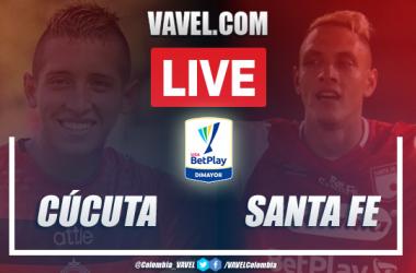 Resumen: Cúcuta vs Santa Fe (2-3) por la Liga BetPlay 2020